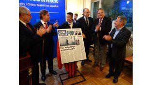 Presentaron en Beijing la alianza entre UNO Medios y China Daily