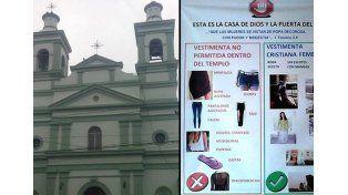 Sacerdote prohibe usar jeans o calzas a mujeres y niñas