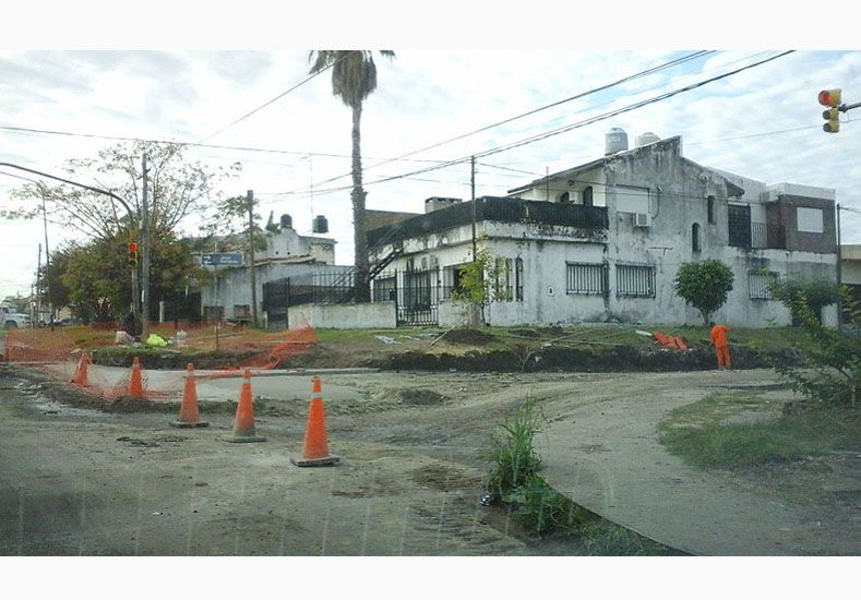 Continúa la obra de ensanche de avenida Don Bosco