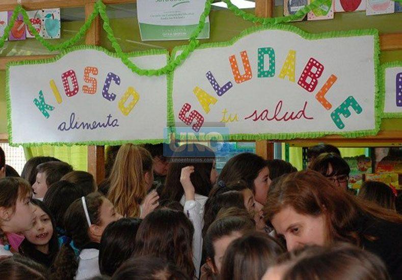Experiencia. La idea de la escuela Olegario Víctor Andrade es un valorable aporte a la comunidad. (Foto UNO)