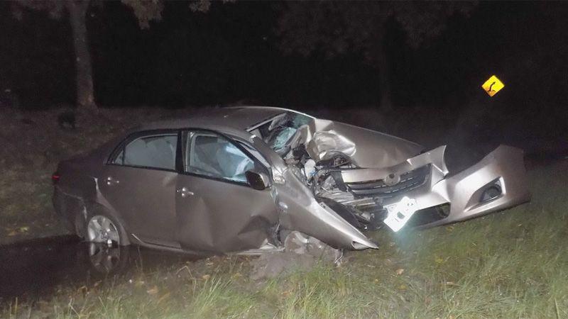 Un joven murió tras volcar su auto en la Ruta 12