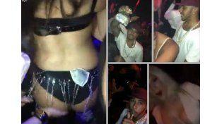 Hamilton de fiesta en Miami