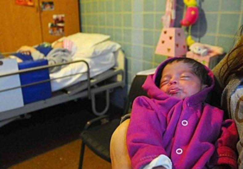 Milagro: una joven en estado vegetativo dio a luz a una beba
