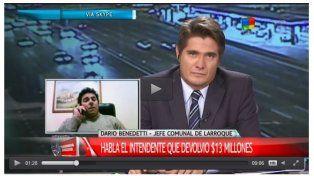 Macri felicitó al intendente de Larroque