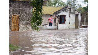 Hace un mes. La Paz sufría una de las más devastadoras inclemencias del tiempo. (Foto gentileza municiaplidad de La Paz)