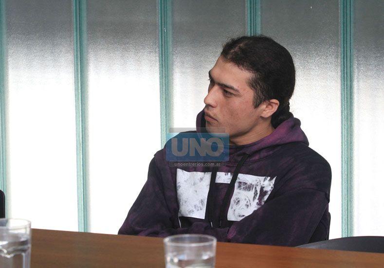 Acusado. Martínez espera los alegatos de hoy.  Foto UNO/Juan Ignacio Pereira