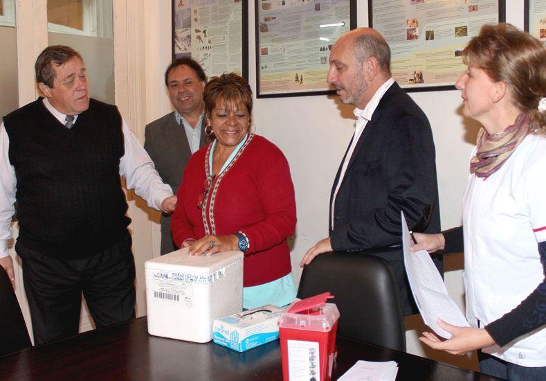 Balla y De la Rosa encabezaron la actividad. (Foto: Prensa Ministerio de Salud)