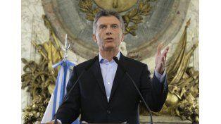 Macri aseguró que no habrá más aumentos de combustibles