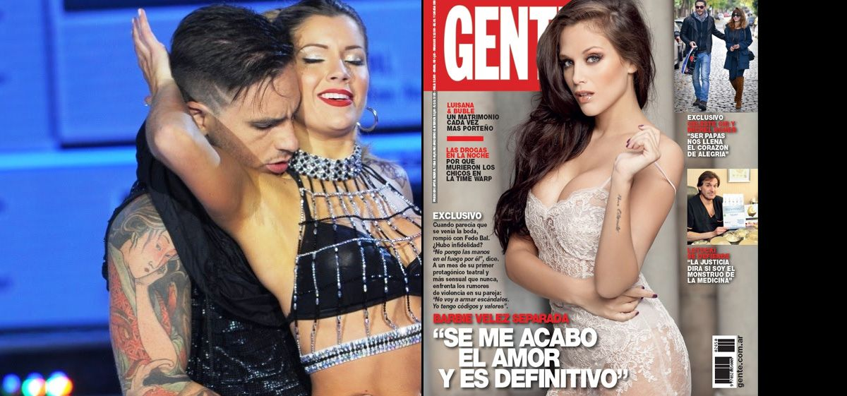 Barbie Vélez confirmó la separación y a Fede Bal se lo vincula con Laurita Fernández