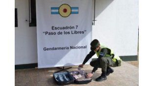 Entrerriano fue detenido en Corrientes con una valija llena de dinero