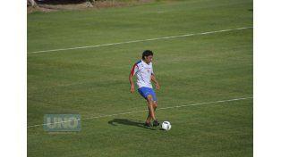 Galli remarcó que el Decano comenzó con mayor confianza la semana de entrenamientos.  Foto UNO/Mateo Oviedo