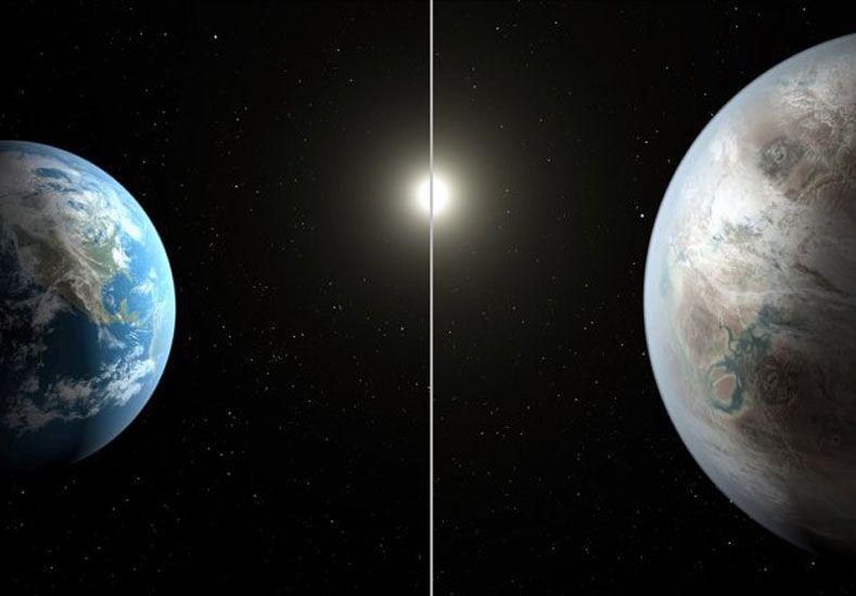 Profunda mirada. Los planetas fueron localizados por un telescopio ubicado en Chile.
