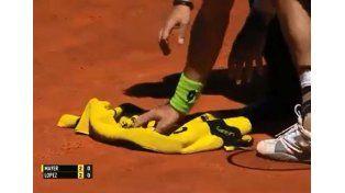 Mayer cazó un murciélago y se fue rápido de España