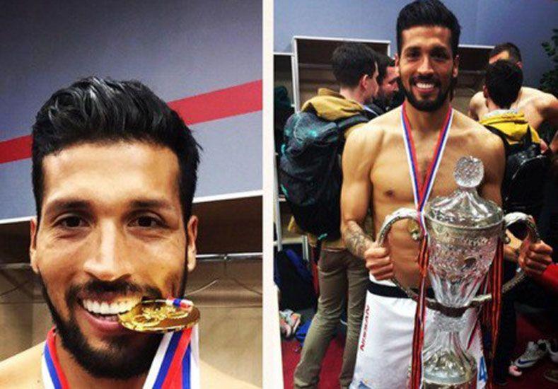 Garay se coronó campeón con el Zenit