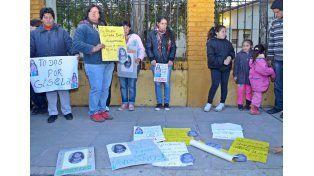En Santa Elena marcharon reclamando la aparición de Gisela López