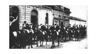 Oligarquía. La Liga Patriótica Argentina masacró a varios trabajadores y quedó impune.