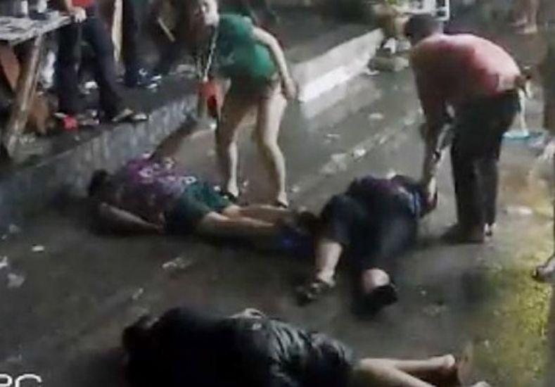 Una familia británica recibe una bestial paliza en Tailandia