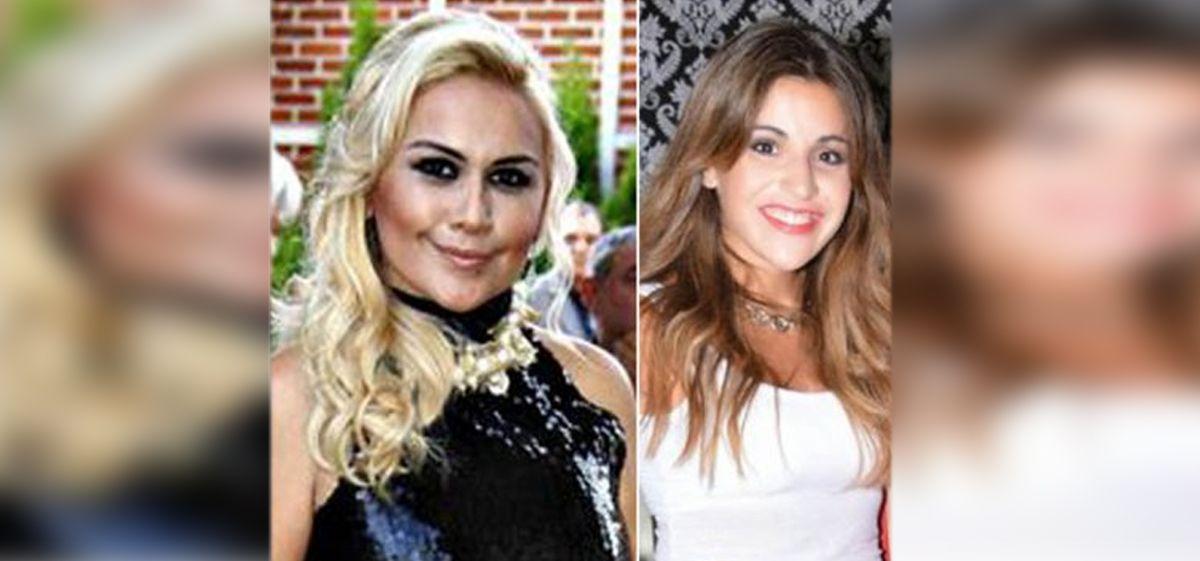 El acercamiento de Gianinna Maradona y Verónica Ojeda