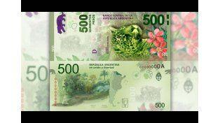 El billete de 500 pesos saldrá en junio y el de 200, en octubre