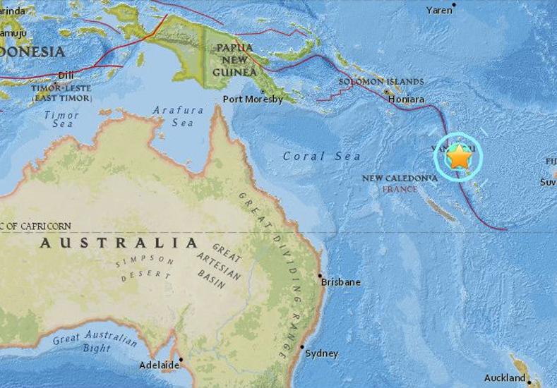 Terremoto de 7 grados en el Pacífico provoca alerta de tsunami