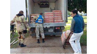 Decomisaron más de 800 kilos de pollo y los donaron a instituciones públicas