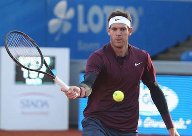Del Portro a paso firme en el ATP de Munich