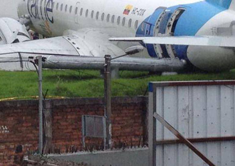 Despistó un avión en Ecuador