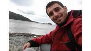 Foto: El joven de 29 años es profesor de Educación Física y coordinador turístico