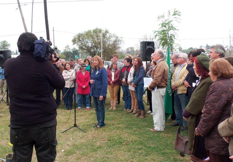 Falleció María Cura, la defensora de los árboles de Paraná