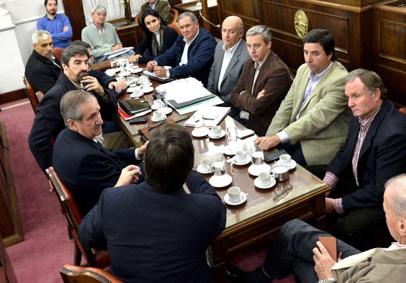 Informe. El ministro Schepens respondió a las inquietudes de los legisladores provinciales.