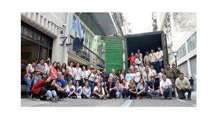 Desde la Casa de Entre Ríos se enviaron 60 toneladas de donaciones a la provincia