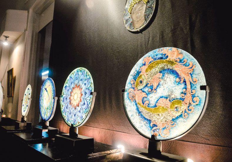 Juegos de Luz, la muestra de la artista Wilma Daolio
