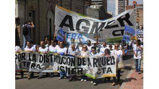 Agmer participará del acto que convocan las cinco centrales sindicales