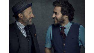 Guillermo Francella y su hijo. Foto: Internet