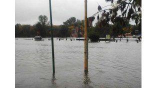 Gualeguaychú. Ayer por la tarde registraban alrededor de 130 evacuados y esperaban más. Foto Gentileza/Daniel González