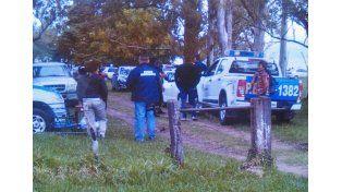 La policía de San Salvador realizó el operativo en la tarde de ayer.
