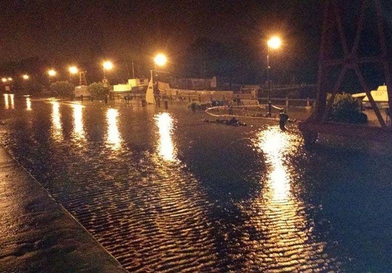 Gualeguaychú: El río está bajando y el municipio asiste a los evacuados