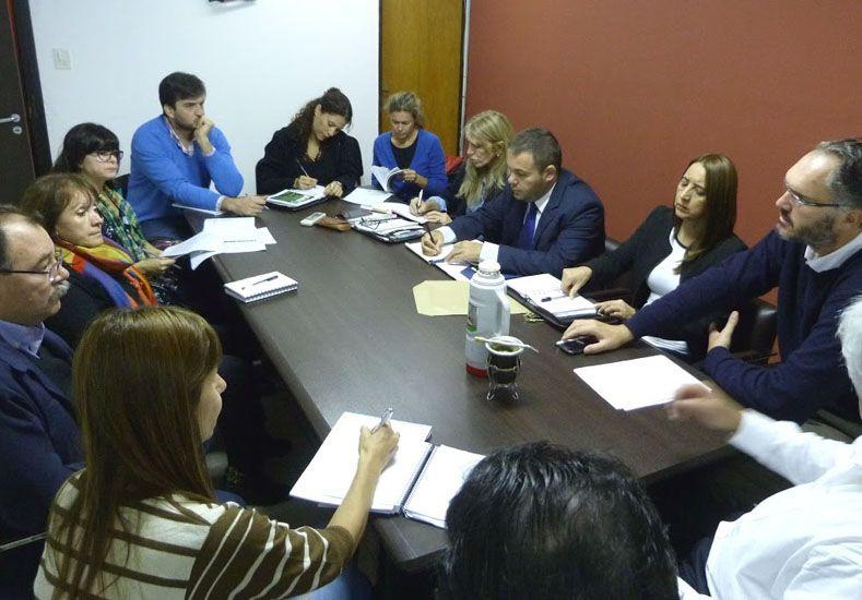 Políticas. Participaron de la reunión Salud