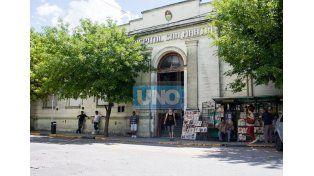 El joven de 19 años está internado en el hospital San Martín. Foto UNO/Archivo ilustrativa