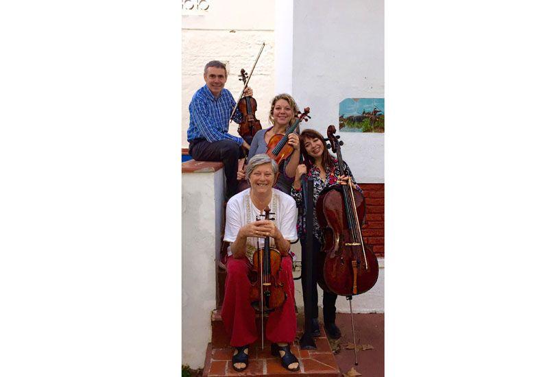 Intérpretes. El Cuarteto de Amigos se presentará junto a Graciela Reca.