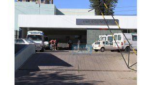 El motociclista resultó gravemente herido por lo que fue trasladado al hospital San Martín.  Foto UNO/Archivo ilustrativa