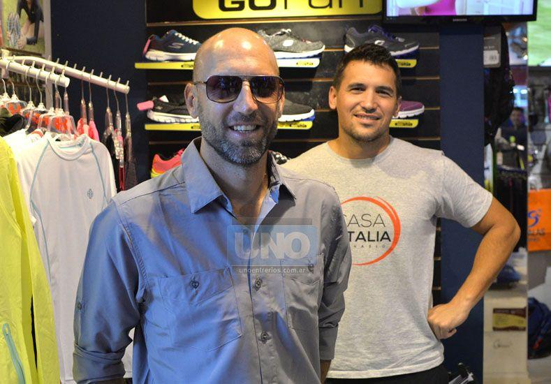 Gonzalo Salas y Luciano Donza serán protagonistas mañana de la gran prueba en Buenos Aires. (Foto UNO/Mateo Oviedo)