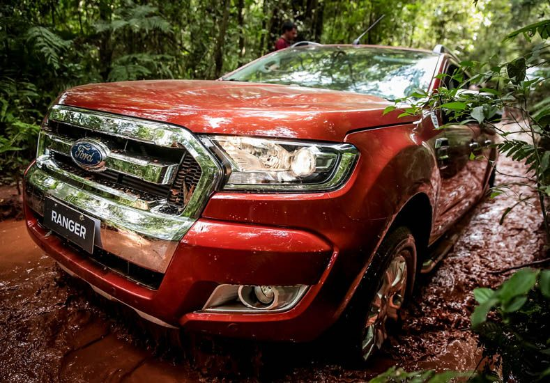 Nueva Ford Ranger: Kinetic Design Attraction 2016