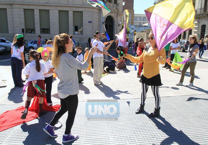 Un grupo de profesores se reunirá el lunes con Magda Varisco. Foto UNO Juan Ignacio Pereira.