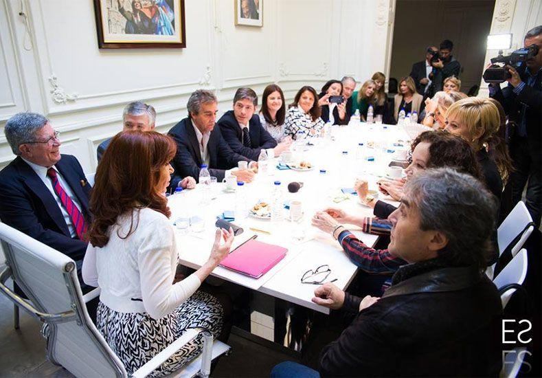 Cristina cuestionó la designación de candidatos a la Corte Suprema