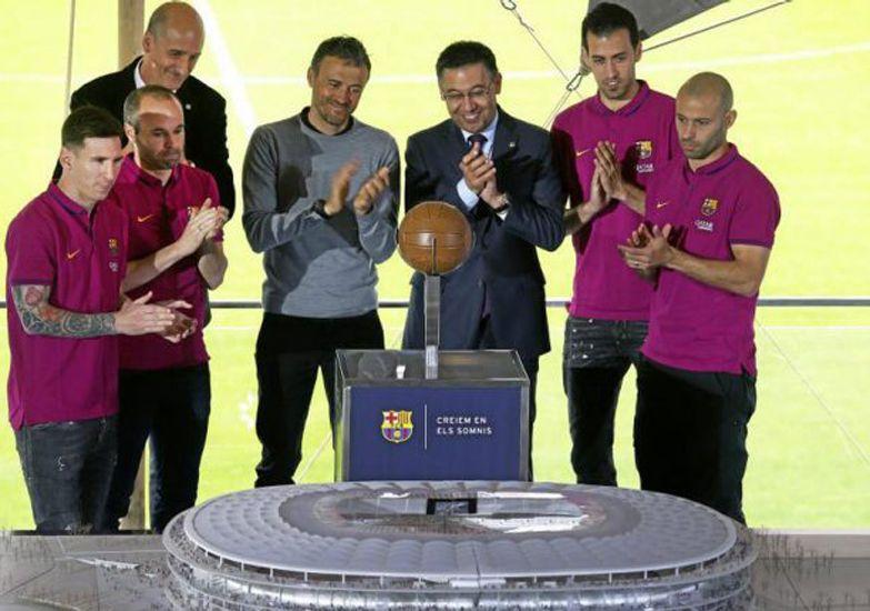 Se presentó el nuevo Camp Nou