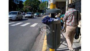 El paraguas a la basura y a prender rápido el lavarropas