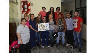 Crítica situación. La empresa decidió no atender pacientes.   Foto UNO/Mateo Oviedo