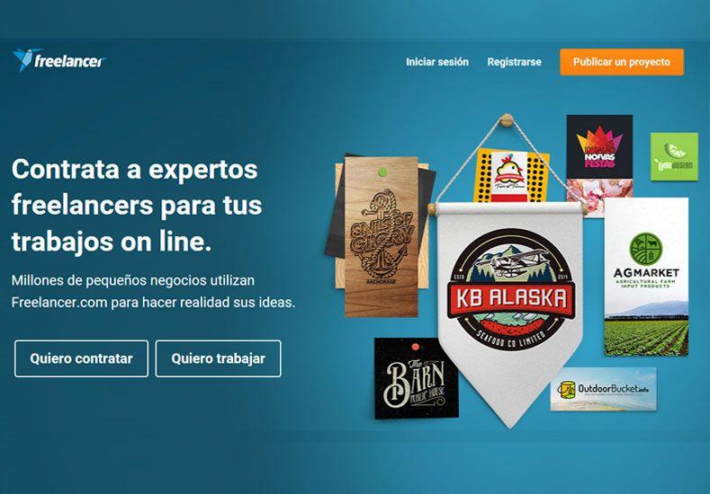 Freelancer.com tiene 18.917.377 usuarios registrados y se hicieron 8.794.034 trabajos.