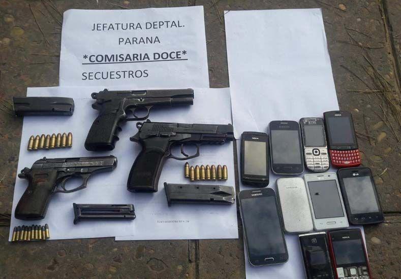 La policía secuestró armas en el Lomas II y busca debilitar a las bandas antagónicas